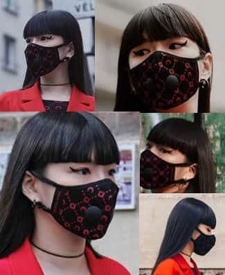 マスク姿の秋元梢のインスタ