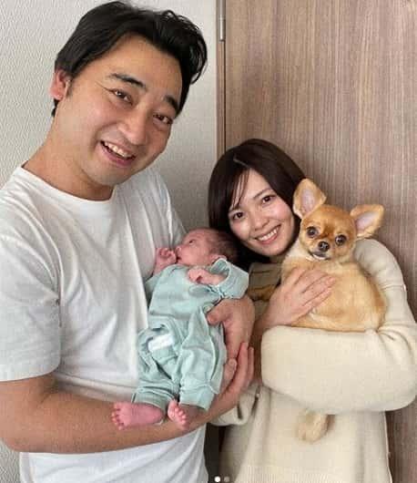 瀬戸サオリが出産した子供の顔画像