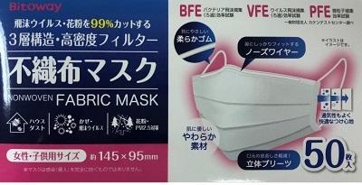 ファンケルのマスク